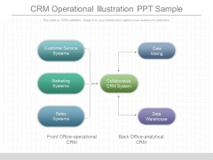 Crm Operational Illustration Ppt Sample