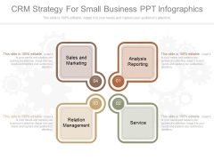 Crm Strategy For Small Business Ppt Infographics
