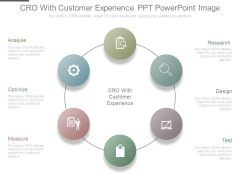 Cro With Customer Experience Ppt Powerpoint Image