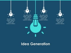 Cross Channel Marketing Plan For Clients Idea Generation Ppt Icon Graphics Example PDF