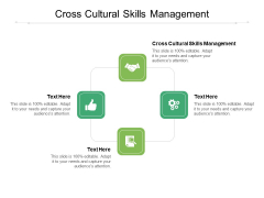 Cross Cultural Skills Management Ppt PowerPoint Presentation Inspiration Guide Cpb Pdf