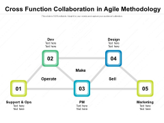Cross Function Collaboration In Agile Methodology Ppt PowerPoint Presentation Inspiration Infographics PDF