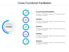Cross Functional Facilitation Ppt PowerPoint Presentation Pictures Information Cpb