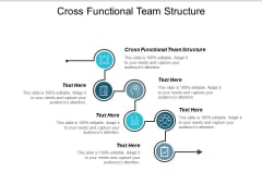 Cross Functional Team Structure Ppt PowerPoint Presentation Inspiration Structure Cpb