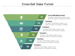 Cross Sell Sales Funnel Ppt PowerPoint Presentation Slides Aids Cpb
