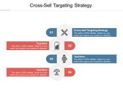 Cross Sell Targeting Strategy Ppt PowerPoint Presentation Model Vector Cpb