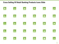 Cross Selling Of Retail Banking Products Icons Slide Ppt Infographic Template Show PDF