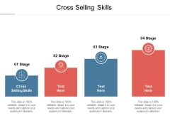 Cross Selling Skills Ppt PowerPoint Presentation Pictures Guidelines Cpb