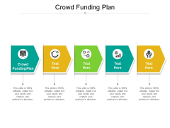 Crowd Funding Plan Ppt PowerPoint Presentation Summary Master Slide Cpb
