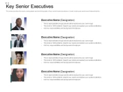 Crowd Sourced Equity Funding Pitch Deck Key Senior Executives Download PDF