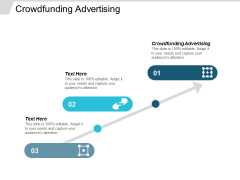 Crowdfunding Advertising Ppt PowerPoint Presentation Model Cpb