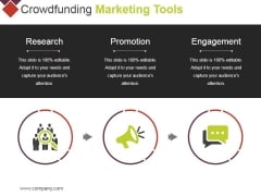 Crowdfunding Marketing Tools Ppt PowerPoint Presentation Portfolio Objects