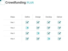 Crowdfunding Plan Ppt PowerPoint Presentation File Examples