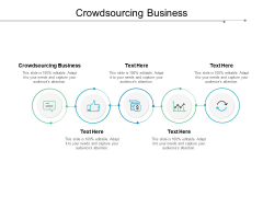 Crowdsourcing Business Ppt PowerPoint Presentation Show Icons Cpb