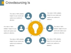 Crowdsourcing Is Ppt PowerPoint Presentation Inspiration Portrait