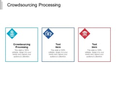 Crowdsourcing Processing Ppt PowerPoint Presentation Ideas Design Templates Cpb