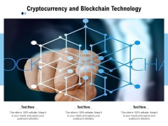 Cryptocurrency And Blockchain Technology Ppt PowerPoint Presentation File Gallery PDF