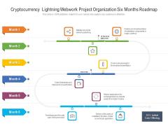 Cryptocurrency Lightning Webwork Project Organization Six Months Roadmap Inspiration