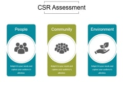 Csr Assessment Ppt PowerPoint Presentation Samples