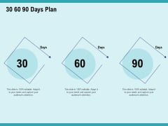 Cultural Intelligence For Productive Team And Enhanced Interaction 30 60 90 Days Plan Ppt Summary Clipart PDF