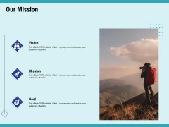 Cultural Intelligence For Productive Team And Enhanced Interaction Our Mission Ppt Inspiration Good PDF