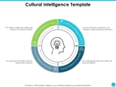 Cultural Intelligence Template Ppt PowerPoint Presentation Styles Picture