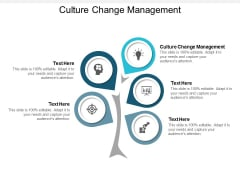 Culture Change Management Ppt Powerpoint Presentation Images Cpb