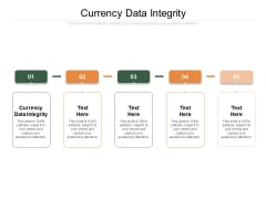 Currency Data Integrity Ppt PowerPoint Presentation Summary Show Cpb