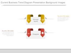 Current Business Trend Diagram Presentation Background Images