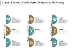 Current Business Trends Market Outsourcing Technology Ppt Powerpoint Presentation Pictures Ideas