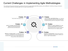 Current Challenges In Implementing Agile Methodologies Professional PDF