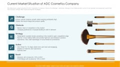 Current Market Situation Of ADC Cosmetics Company Professional PDF
