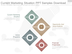 Current Marketing Situation Ppt Samples Download