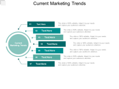 Current Marketing Trends Ppt PowerPoint Presentation Icon Demonstration Cpb