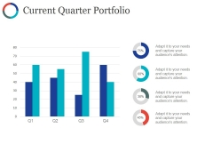 Current Quarter Portfolio Template Ppt PowerPoint Presentation Layouts Picture