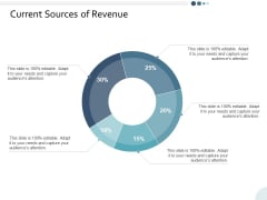 Current Sources Of Revenue Ppt PowerPoint Presentation Slides Guide