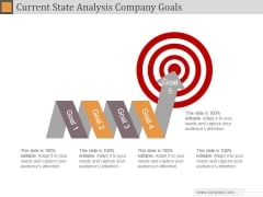 Current State Analysis Company Goals Ppt PowerPoint Presentation Designs