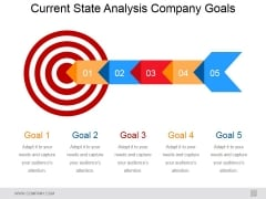 Current State Analysis Company Goals Ppt PowerPoint Presentation Ideas Layout Ideas
