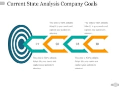 Current State Analysis Company Goals Ppt PowerPoint Presentation Infographic Template Rules