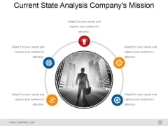 Current State Analysis Company Mission Ppt PowerPoint Presentation Model Format Ideas