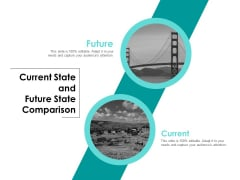 Current State And Future State Comparison Ppt PowerPoint Presentation Pictures Design Ideas