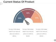 Current Status Of Product Ppt PowerPoint Presentation Designs Download