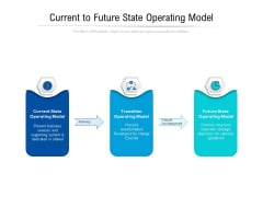 Current To Future State Operating Model Ppt PowerPoint Presentation Styles Background PDF