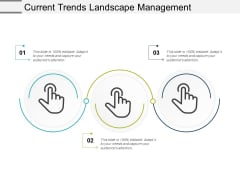 Current Trends Landscape Management Ppt Powerpoint Presentation Pictures Background Images