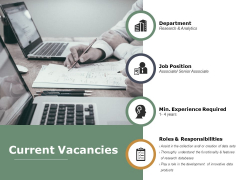 Current Vacancies Ppt PowerPoint Presentation Show Topics