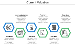 Current Valuation Ppt Powerpoint Presentation Infographics Demonstration Cpb