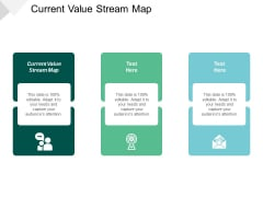 Current Value Stream Map Ppt PowerPoint Presentation Icon Show Cpb