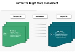 Current Vs Target State Assessment Ppt PowerPoint Presentation Icon Outline PDF