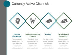 Currently Active Channels Ppt PowerPoint Presentation Influencers