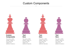 Custom Components Ppt PowerPoint Presentation Slides Templates Cpb